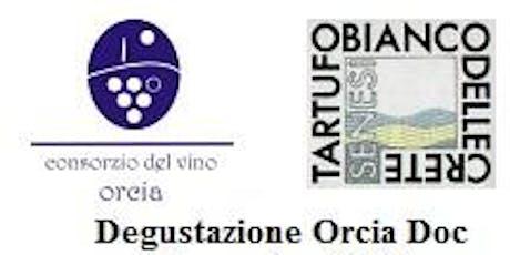 Degustazione vini Orcia Doc 19 novembre San Giovanni d'Asso biglietti