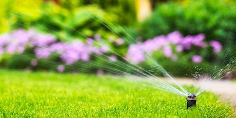 Water U Doing?: Water-Efficient Sprinklers tickets