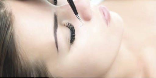 Greensboro NC, Eyelash Extension Training (Lash Certification Training)