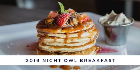 2019 Night Owl Breakfast tickets