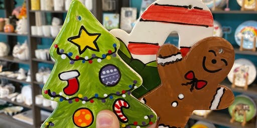 My Gal and Me Ornament Painting for Daisies & Brownies