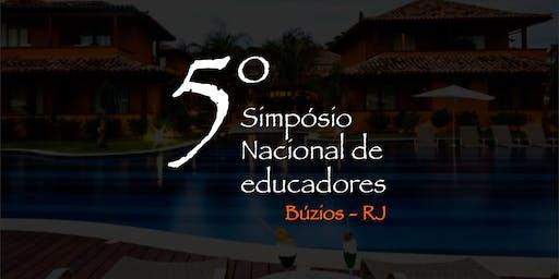 5º Simpósio Nacional de Educadores Hairducators