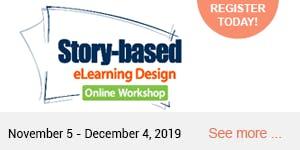 Story-Based eLearning Design Online Workshop 2019...