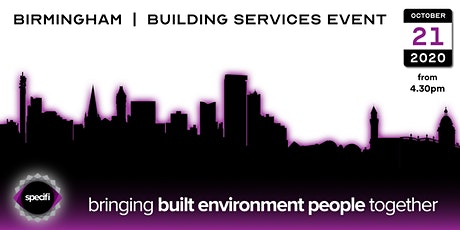 Specifi Birmingham - BUILDING SERVICES EVENT tickets