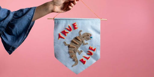 Workshop: Wall Hangings with Millie Hall at Fairgrounds Festival
