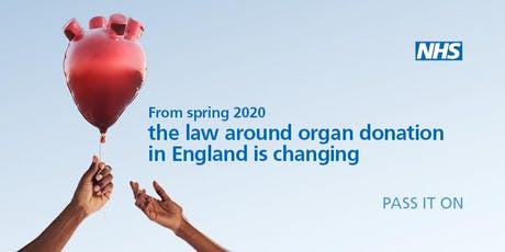 There is a new organ donation law coming soon… Are you ready? tickets