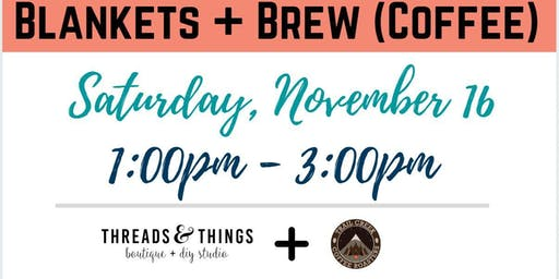 Blankets + Brew (Coffee) at Trail Creek Coffee Roasters (11/16 at 1:00pm)