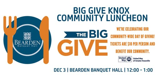 The Big Give Knox Community Luncheon