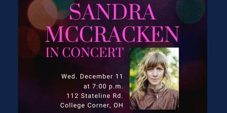 Sandra McCracken Christmas Concert tickets