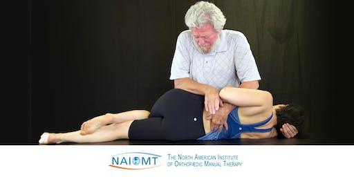 NAIOMT C-511 Lumbopelvic Spine I [Andrews University - Berrien Springs, MI]2020