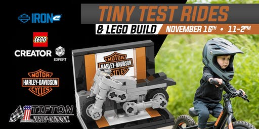 Tiny Test Rides and Lego Build at Tifton H-D