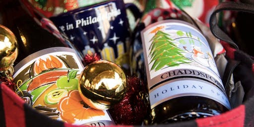 Christmas Village Wine Tasting in cooperation with Chaddsford Winery