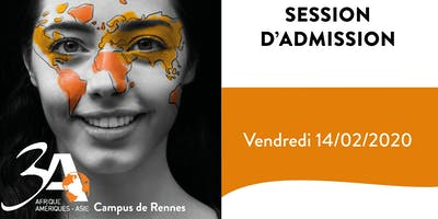 Session d'admission 3A Rennes 14/02/2020