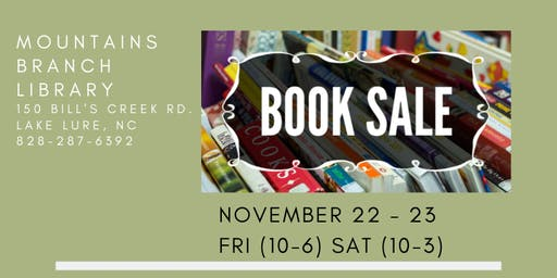 Book Sale @ Mountains Branch