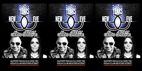 NYE: Al Gibbs & Jenny Greene @ Opium Club tickets
