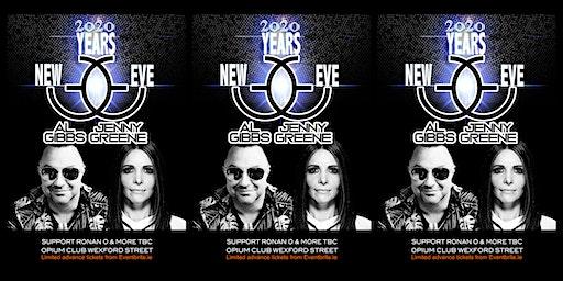 NYE: Al Gibbs & Jenny Greene @ Opium Club