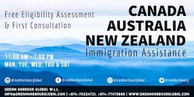 FREE Immigration Consultation for Canada/Australia/New Zealand in Qatar