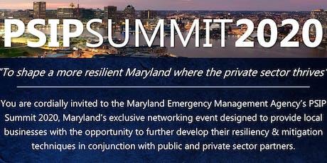 PSIP Summit 2020 tickets
