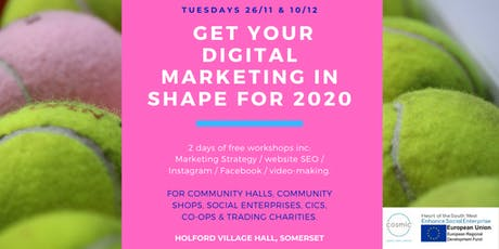 Digital Marketing: From Strategy to Hands-on.   Holford VH, West Somerset tickets