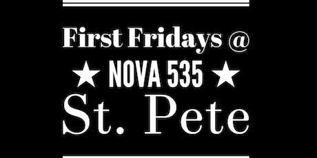 Dec - First Fridays @ Nova 535 - Sagittarius vs Capricorn tickets