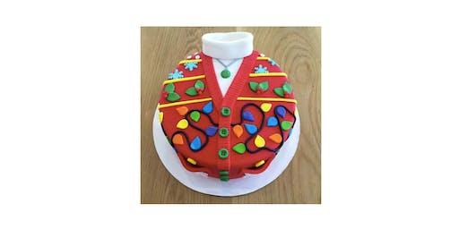 Ugly Sweater Cake Decorating Holiday Party (Pasadena)