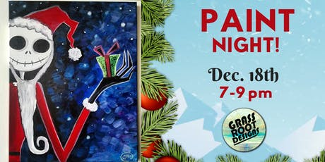 Nightmare Before Xmas | Paint Night! tickets