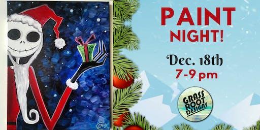 Nightmare Before Xmas | Paint Night!