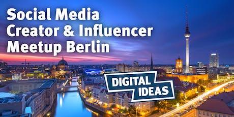 Social Media Creator & Influencer Meetup #4 tickets