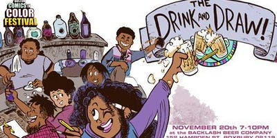 Comics in Color Drink & Draw Fundraiser