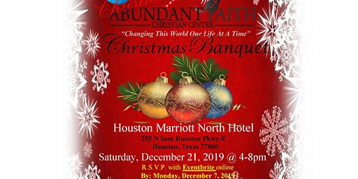Abundant Faith Christian Center-2nd Annual Church Christmas Banquet