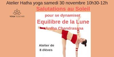 Atelier Yoga du Samedi : Les nombreuses Salutations au Soleil  à Toulouse