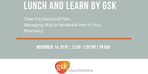 Lunch and Learn by GSK