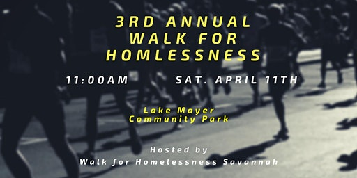 3rd Annual Walk for Homelessness