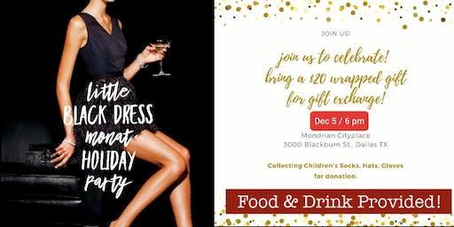 Little Black Dress Meet Monat Holiday Party
