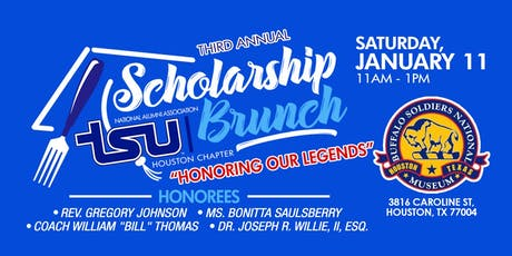 Third Annual Honoring Our Legends Scholarship Brunch tickets