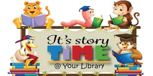 Storytime Thursday, November 14th