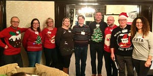 Christmas Business networking at The Atrium Clitheroe...