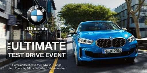 J Donohoe BMW Test Drive Event