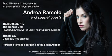 Echo Presents An Evening with Andrea Ramolo tickets
