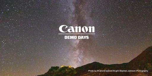 Canon Demo Days, Hunt's Photo, Cambridge