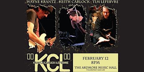 KCL: Wayne Krantz, Keith Carlock, Tim Lefebvre tickets