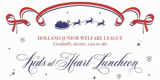 2019 Holland Junior Welfare League -  Kids at Heart Luncheon