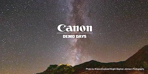 Canon Demo Days, Hunt's Photo, Holyoke