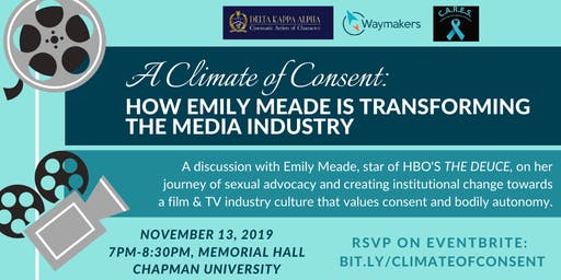 A Climate of Consent: How Emily Meade is Transforming the Media Industry