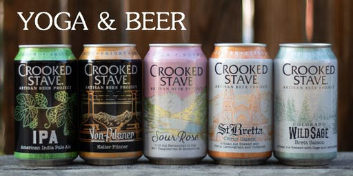 Yoga and Beer at Crooked Stave