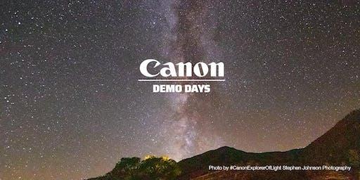 Canon Demo Days, Hunt's Photo, Hanover