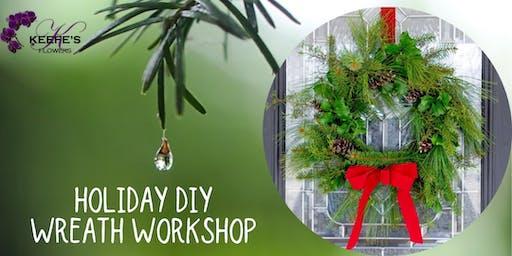 Holiday DIY Wreath Workshop