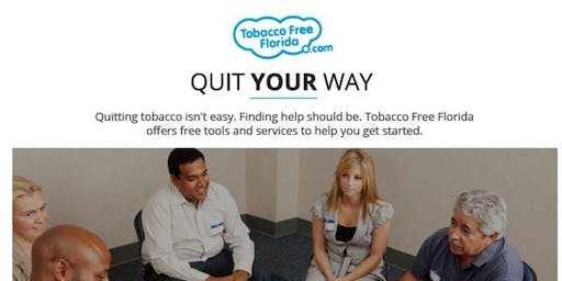 Quit Tobacco Your Way: Stewart Marchman Act (SMA) Free Clinic