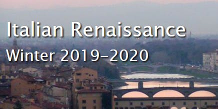Italian Renaissance Winter Program Pre-Departure Orientation