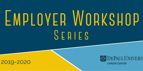 Employer Workshop Series 2019-2020 tickets